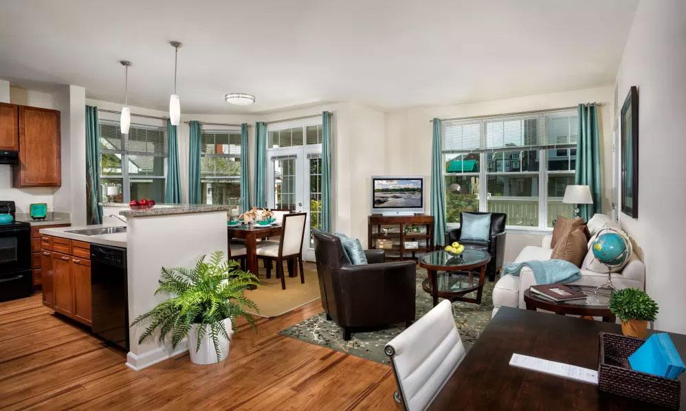 Monarch Mills Living Room